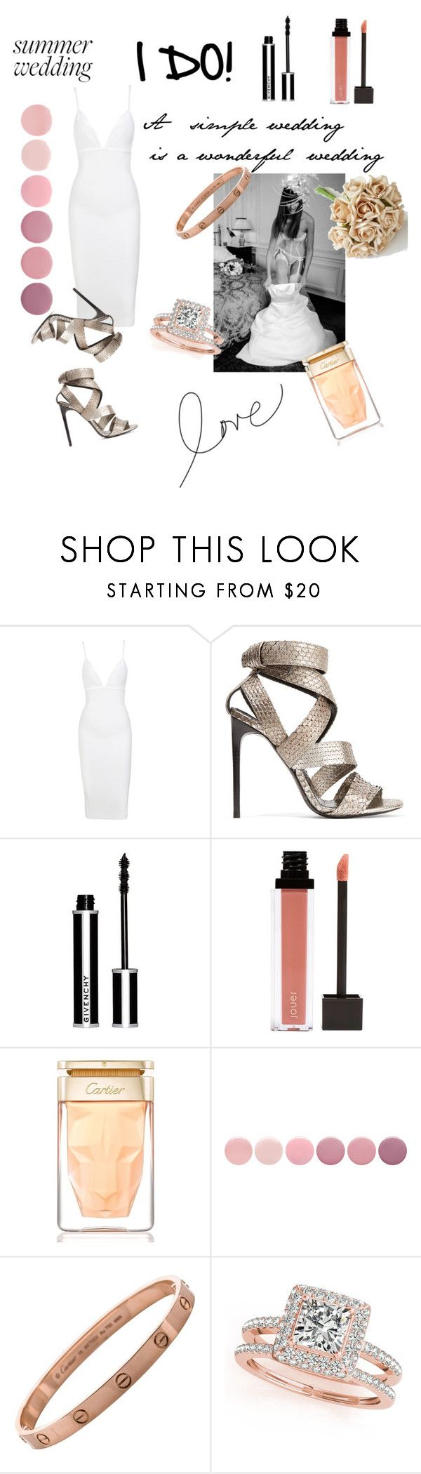 """""""I DO!"""" by anamariahodinet on Polyvore featuring Tom Ford, Givenchy, Jouer, Cartier, Deborah Lippmann and Allurez"""