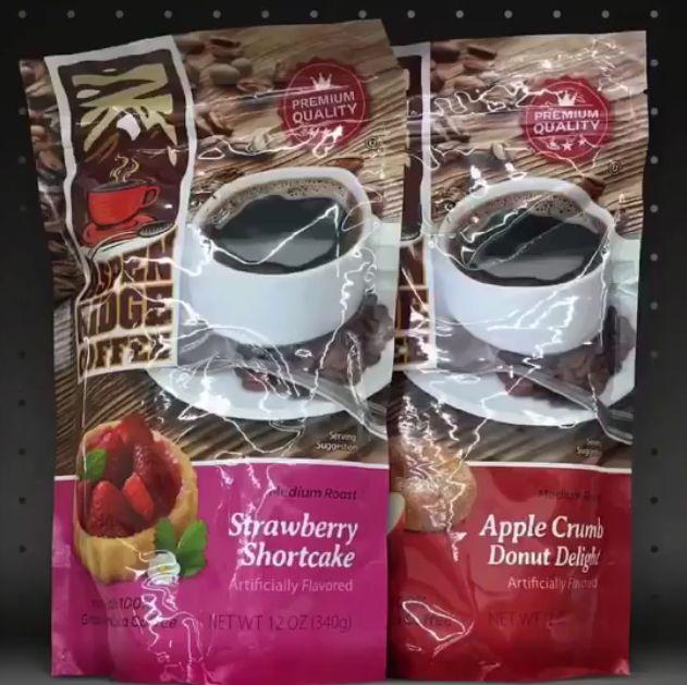 Aspen Lodge Coffee - Strawberry Shortcake and Apple Crumb Donut Delight