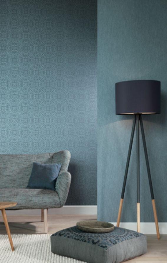 Vliestapete schlafzimmer blau  Die besten 25+ Indigo schlafzimmer Ideen auf Pinterest ...