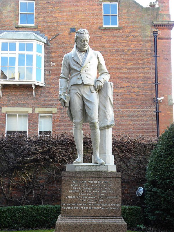 William Wilberforce statue, Kingston upon Hull, England