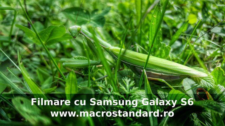 Filmare extraterestru cu Samsung Galaxy S6