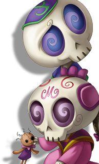 "The sugar skull children from ""La Leyenda de Llorona""...they're so cute!"