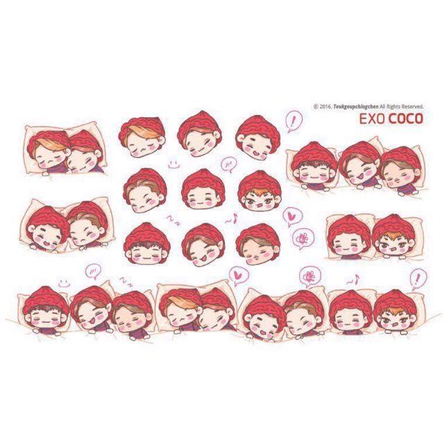 Image result for exo sticker