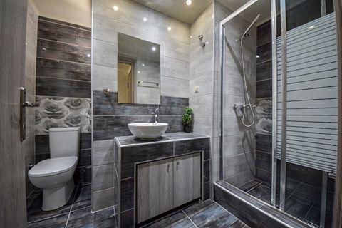 Μπάνιο σε γκρίζες αποχρώσεις! #efimesitiko #realestate