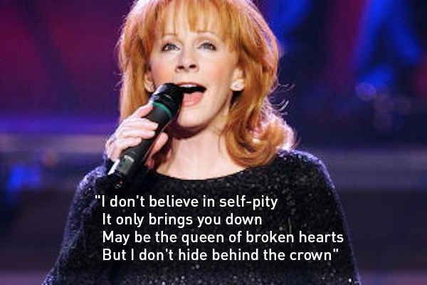 "Reba McEntire — ""I'm a Survivor"" 