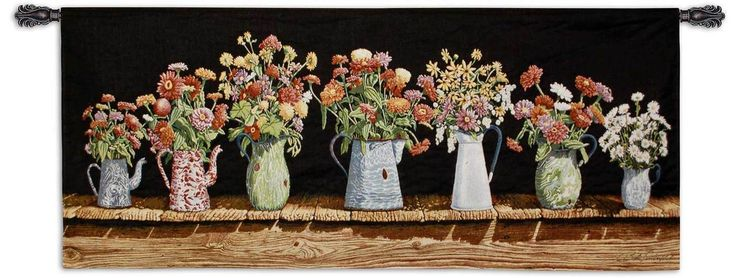 August Colors by Bob Timberlake | 62 x 26 | Woven Tapestry Hanging