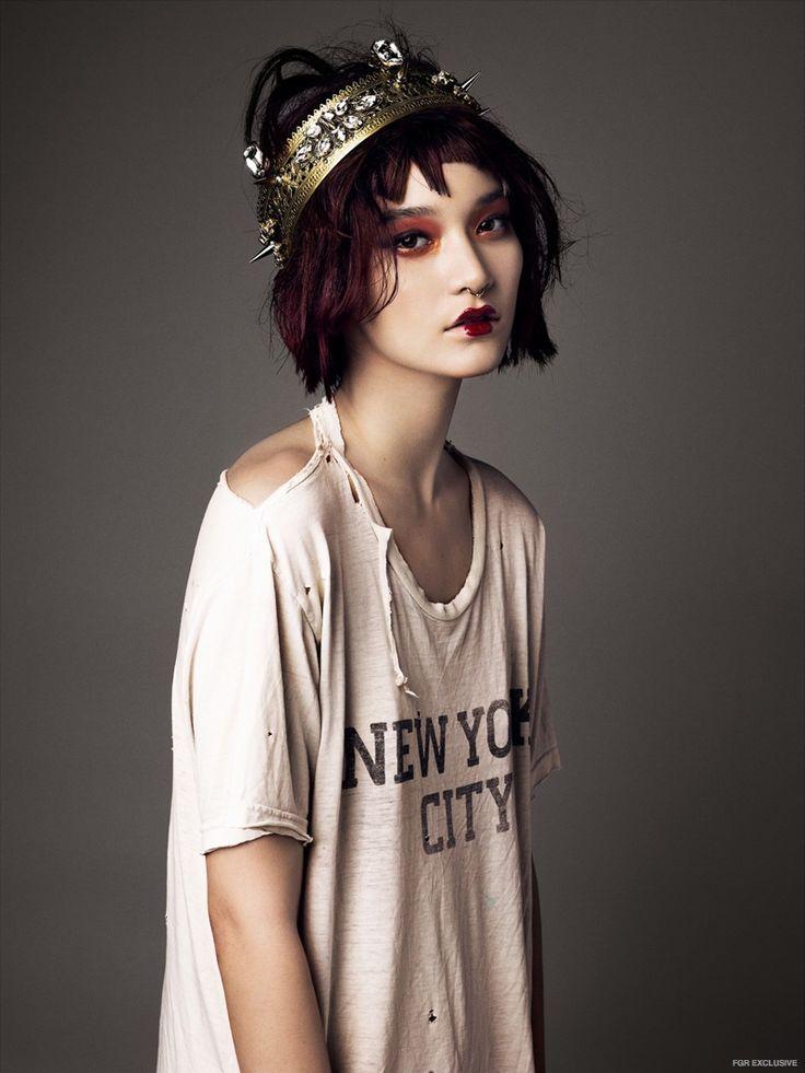 Mona Matsuoka by Brooke Nipar in 'Punk Rock Princess'
