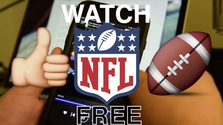 how to watch NFL games online for free verizon or other carriers