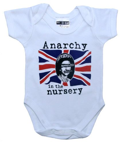 Nippaz With Attitude Anarchy in the Nursery for punk baby #coolbabyclothing