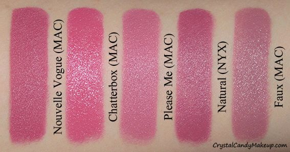 CrystalCandy Makeup Blog - Bilingual beauty blog - Blogue beauté québécois: MAC Matte Lipsticks in Nouvelle Vogue and Fashion Revival (The Matte Lip Collection)