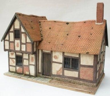 How to create tiled miniature roofs - brilliant ...