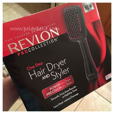 The Revlon Pro Collection One Step Hair Dryer And Styler Is A Time And Style Game Changer For Hair