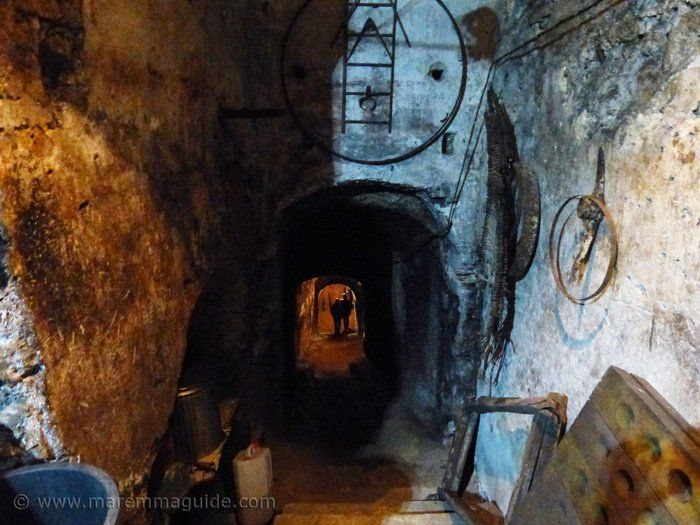 """You only get one opportunity a year to do it, and go you should! The Festa delle Cantine in Sorano will see you tens of metres under this ancient city's winding medieval streets. In it's dark dank cellars. But you'll have to walk down steep """"throats"""" to reach the wine!"""