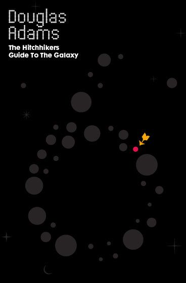 Crush | The Hitchhiker's Guide to the Galaxy by Douglas Adams (Concept Cover)