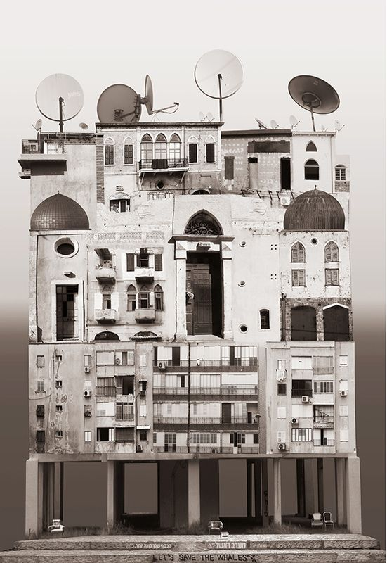 Image 6 of 14 from gallery of The Spirit of Cities Captured in Collage. Israel. Image Courtesy of Anastasia Savinova