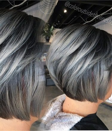 how to achieve grey hair colour
