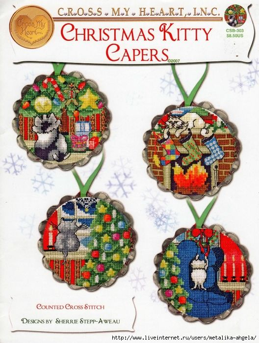 Christmas kitty capers 001