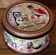 50th Anniversary Tin 1986 - Mackintosh's Quality Street Chocolates & Toffees