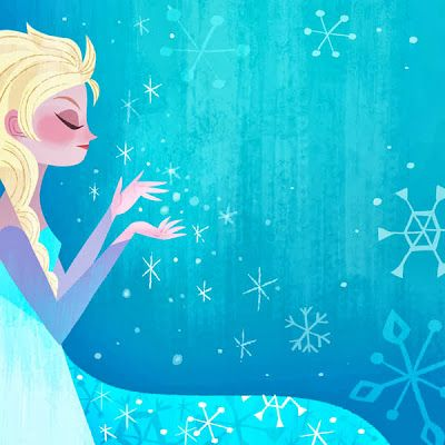 joey art: Disney Frozen picture book illustrations