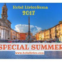 hotel lirico special summer 2017