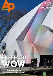 APdigitales #33 con esta espectacular aplicación en portada, que ejemplifica a la perfección del Efecto WOW en comunicación visual. Puedes verla en www.apdigitales.com