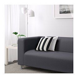 KLIPPAN 2er-Sofa, Vissle grau - Vissle grau - IKEA
