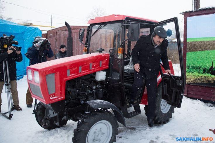 Первые тракторы «Беларус» переданы по программе «Дальневосточный гектар» на Сахалине -  ОАО «БЗТДиА»