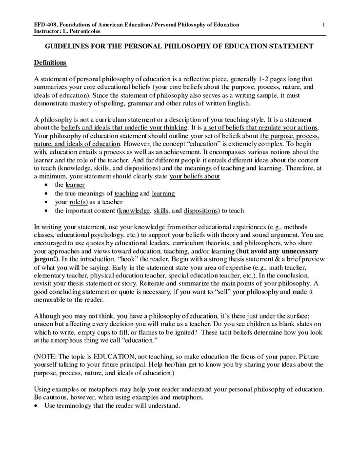 educational philosophy essay my educational leadership philosophy essay