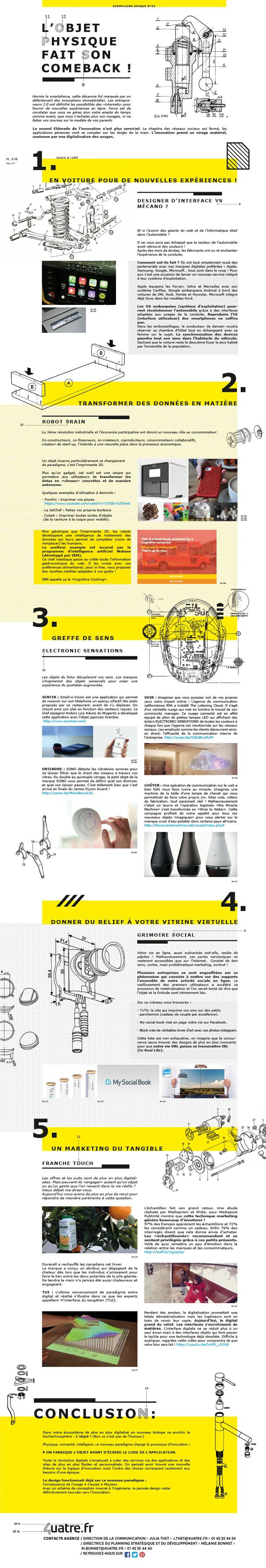 Exemplaire unique numéro 22 : L'objet physique fait son come-back!