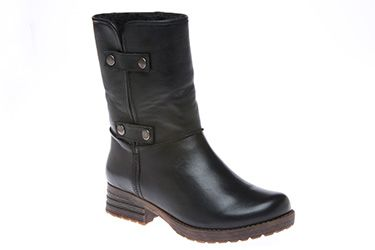 I've been looking for shorter boots, these are cute! Tiffany - Tara M. Tiffany, black.