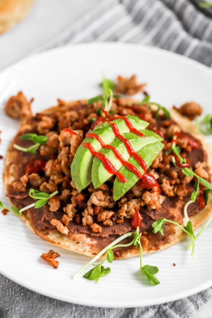 Jun 24, 2020 – Brunch is Served! Crispy Sausage and Black Bean Tostadas