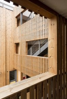 Affordable housing complex completed in Hackney  by Fraser Brown MacKenna Architects  #architecture #arq #house #home #apartment
