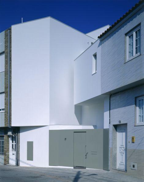 casa en Corrubedo, Galicia, 1996-2002