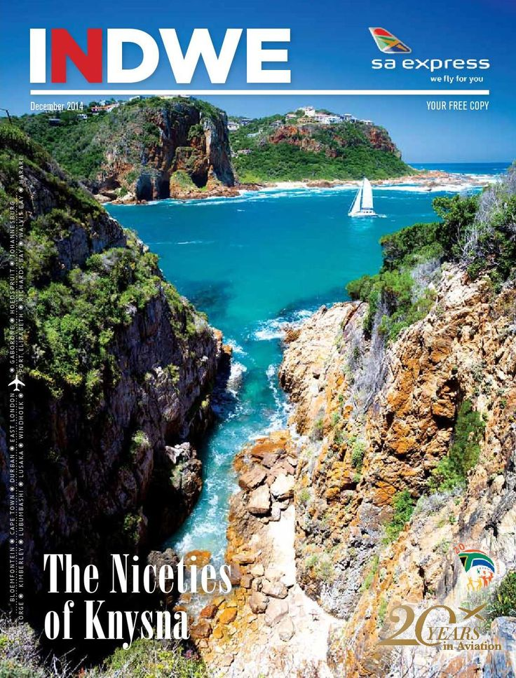 December Issue Launch Post  YOUR FREE DIGITAL COPY OF INDWE MAGAZINE IS NOW AVAILABLE FOR DOWNLOAD... In the December Issue of INDWE Magazine: Cover Feature – The Niceties Knysna - Summer Splashes - Getting Beachy in Joburg - Paradise Just Around The Corner – White Pearl Resorts, Mozambique - Road Warriors - The Car Of The Year Finalists - A Fitting Legacy - Madiba's Memorial Garden - In the Eye of the Beholder: Finding Treasure in Your City - Read More From issue.com/tjtmedia