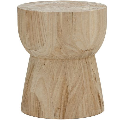 Natural Hourgl Eggcup Replica Side Table In 2019