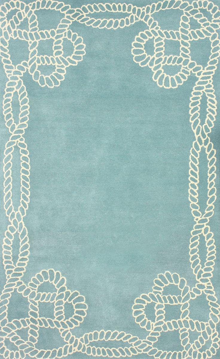 Filigree Marco Polo Blue Area Rug