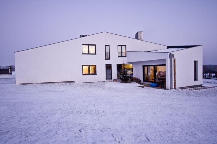 Dom Skadrowany projektu Borysa Wrzeszcza (Foto. Kuba Borkowicz)