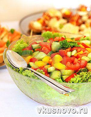 Рецепты приготовления салатов из белокочанной капусты