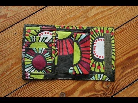 Portemonnaie von Funfabric mit kostenlosem Schnittmuster #haus mit dem rosensofa