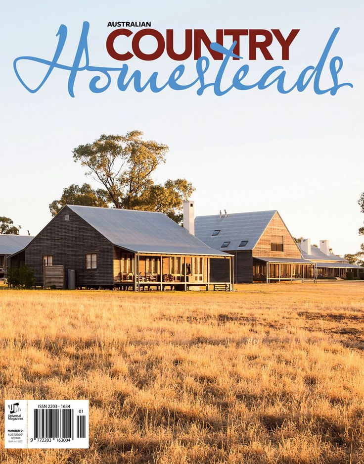 Pick up your copy of Australian Country's first published book, Homesteads. This stunning publication takes you behind the scenes at some of the most significant rural properties across this vast land. Order your copy online at universalshop.com.au.