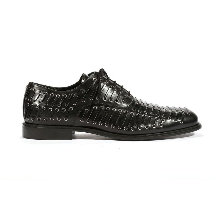 Cesare Paciotti Mens Oxfords Baby Lux Black J Shoes (CPM5444)