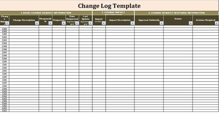 37 best logtemplates images on Pinterest Journals, Logs and Role - change log template