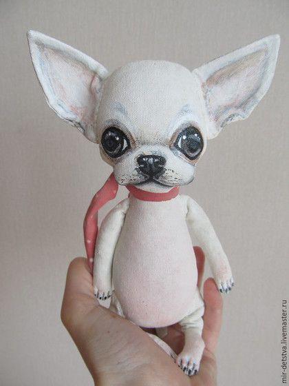 Купить Чихи --Пых для Юлии:) - черно-белый, чихуахуа, чих, ароматизированная игрушка, ароматный подарок