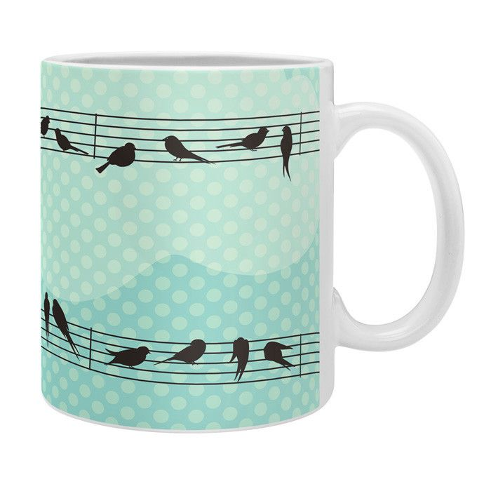 Belle13 Musical Nature Coffee Mug | DENY Designs Home Accessories