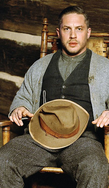 Tom Hardy, lawless.... Oh dear lord can I be that sweater? ;)Cute remark by a young lady.