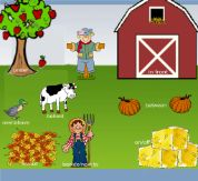 Here you'll find fall and Thanksgiving-themed SMARTboard files for teaching positional words.