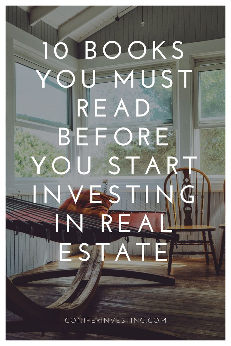 10 books you must read before you start investing in real estate to create passive income