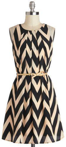 Plus Size Chevron Dress #plussize