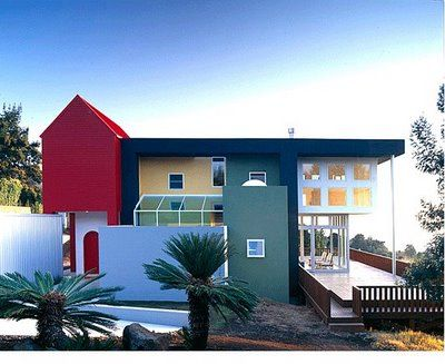 Homes Modern Eterior House Colors Color Schemes Edda