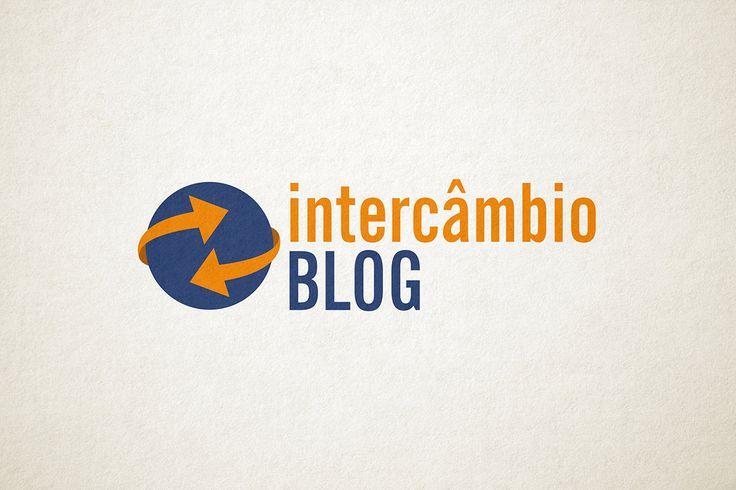 Logo - Intercâmbio Blog - www.intercambioblog.com.br